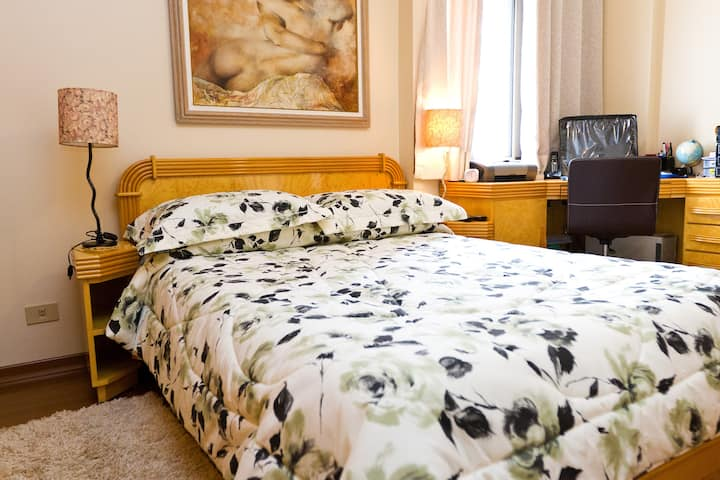 Clean & cozy suite near Paulista Av