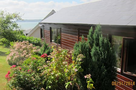 Chalet with amazing views by sea - Amroth