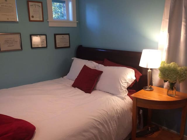 Private Room Available in Large Quiet Home