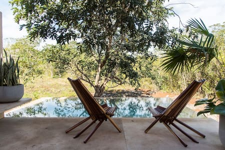 Jungle refuge with private plunge pool