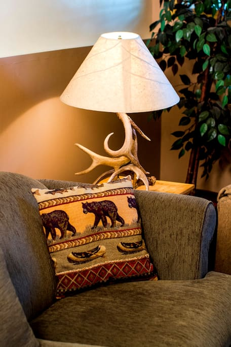 New locally crafted mountain decor
