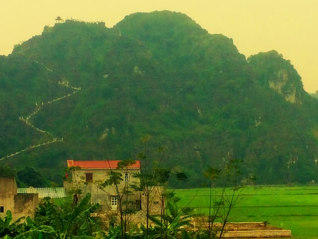 Happiness Homestay - Mountain and rice fields view - Ninh Bình - Nature lodge