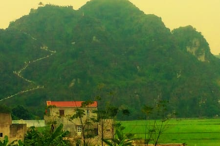 Happiness Homestay - Mountain and rice fields view - Ninh Bình - Natur lodge