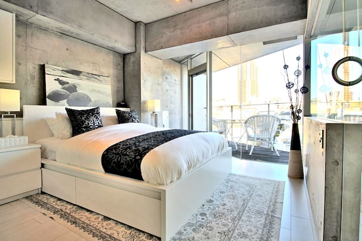 Luxury designer condo with Tokyo Tower view - Minato-ku - Appartement