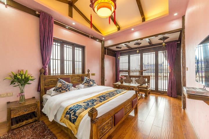 丽江古城-五一街-  空调-阳光豪华大床房-精品卫浴-旅游攻略