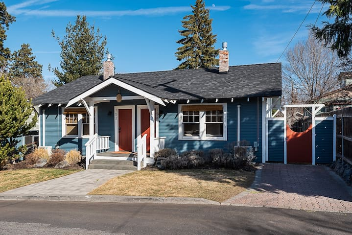 Peaceful Historic Bungalow in downtown Bend