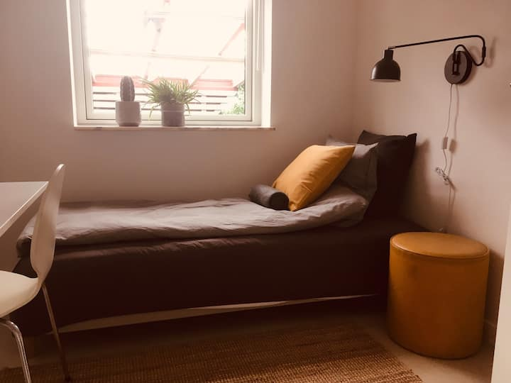 Charming room(3)villa/10 min Roskilde/RUC