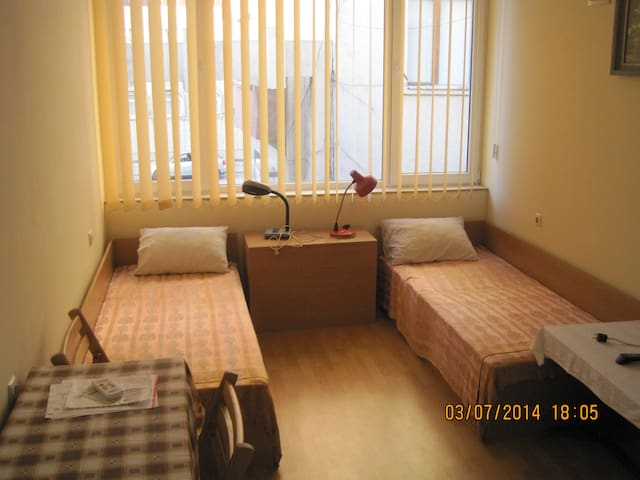 Zentrales 2-Bed-Zimmer