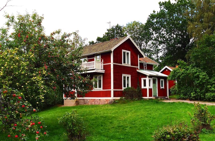 Spacious house 1 h from Stockholm - Dunker - Huis
