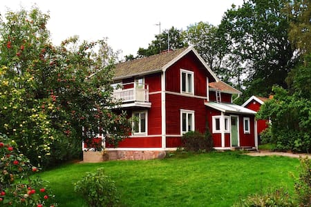 Spacious house 1 h from Stockholm