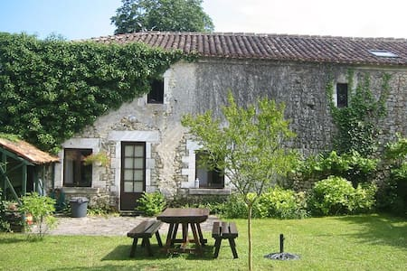 Holiday cottage in Dordogne - Mareuil - Hus