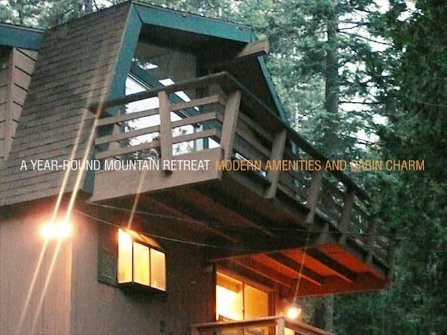 Kid and Pet Friendly Family Cabin - Twin Peaks - Chatka
