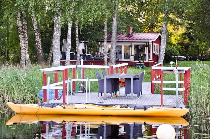 Romantic Lakeside Country House - Norrtälje V - Cabana