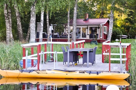 Romantic Lakeside Country House - Norrtälje V - Cabin