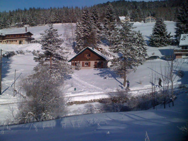 charming chalet in unspoilt mountain location - Ban-sur-Meurthe-Clefcy - Haus