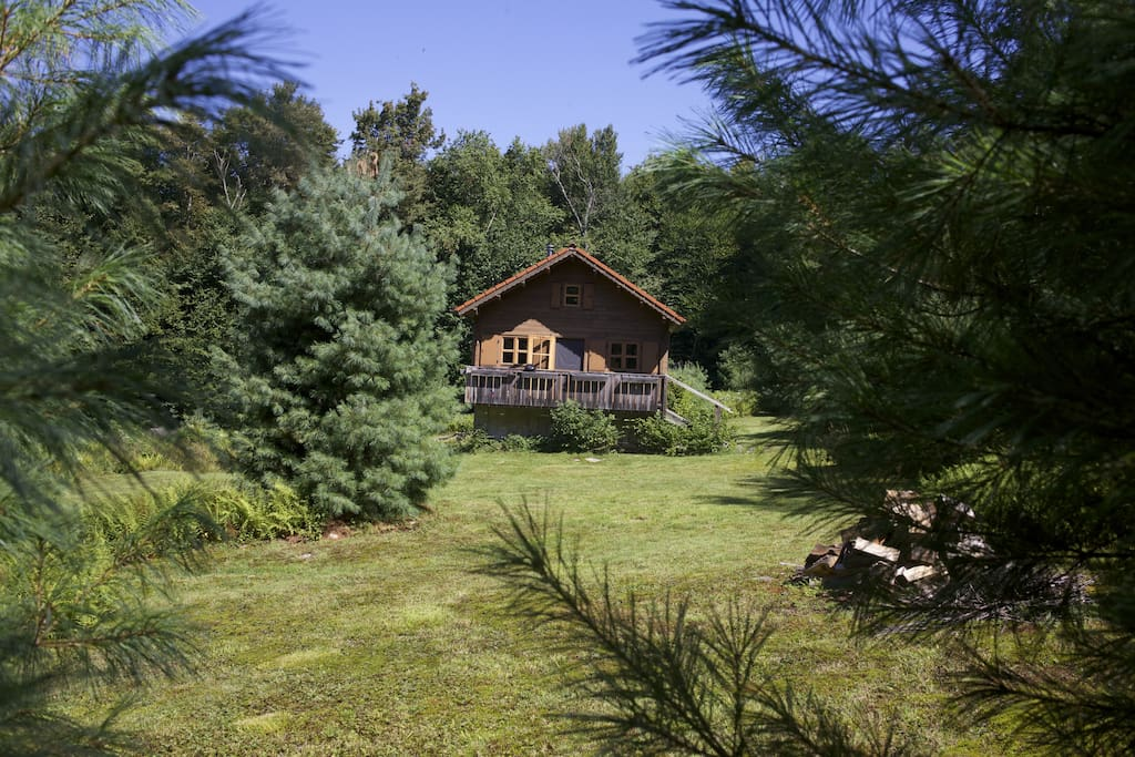 Secluded Cabin Catskill Park On 20 Acres Houses For Rent
