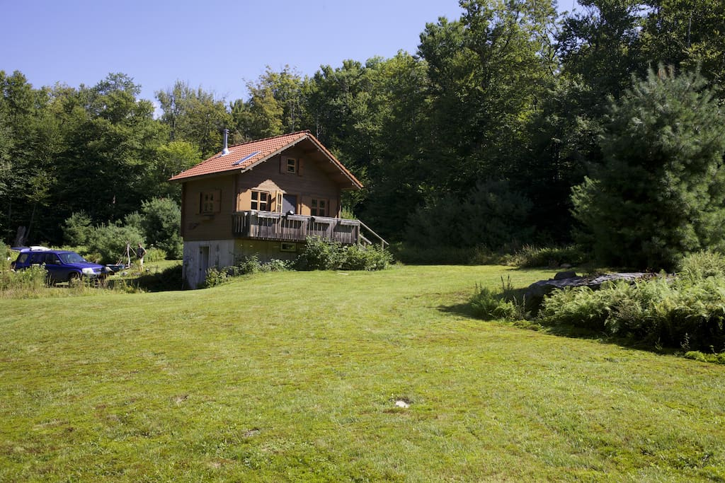 Secluded cabin catskill park on 20 acres cottages for for New york cabin