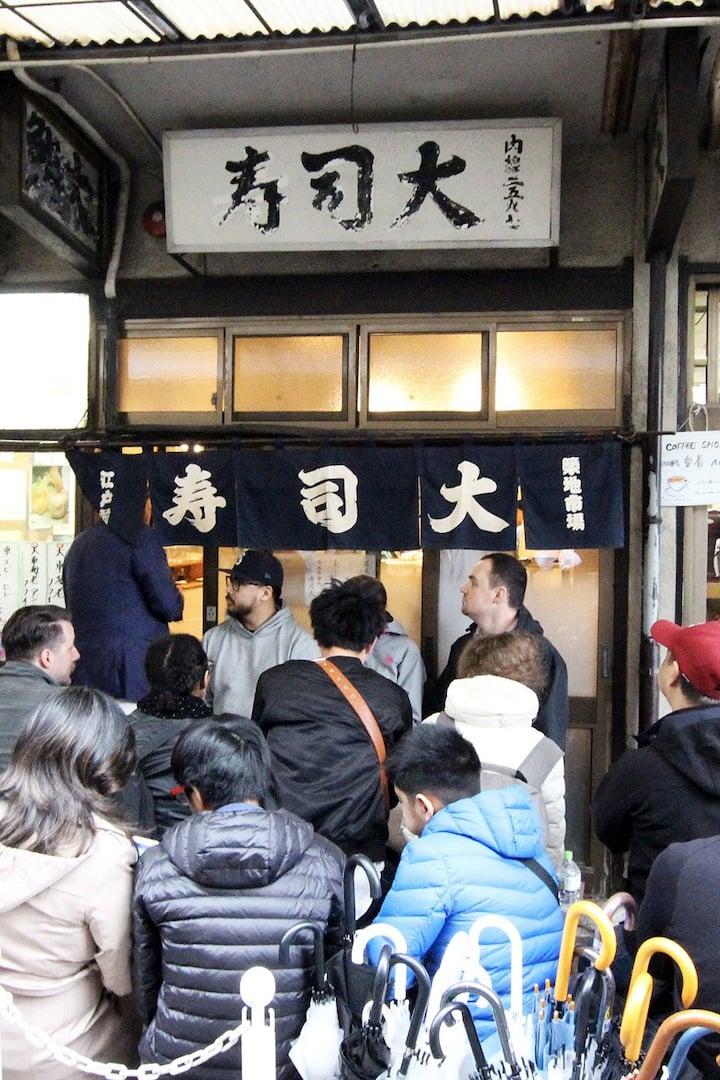 Try best Sushi in Tsukiji! (optional)