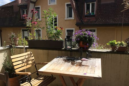 Central, quiet & cosy room in appartement - Lucerne