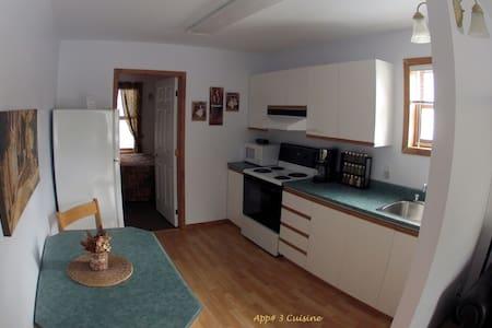 Appartement.  Vieux-Tadoussac... - Tadoussac - Flat
