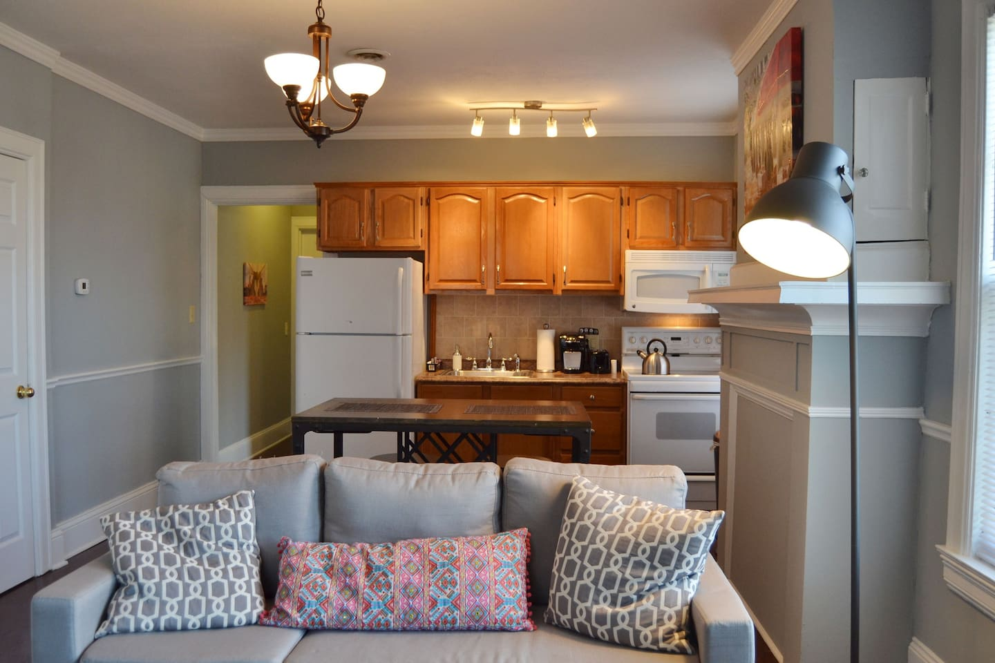 Fully furnished, private apartment great for work trip or a visit in Elmira.