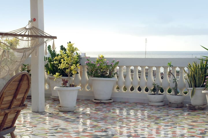 Beautiful apartment. Large terrace. - Dakar - Casa