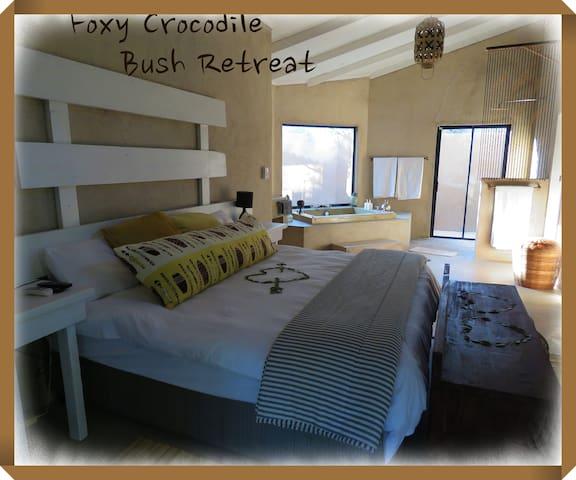 Foxy Crocodile Bush Retreat (Luxury Apartment1)
