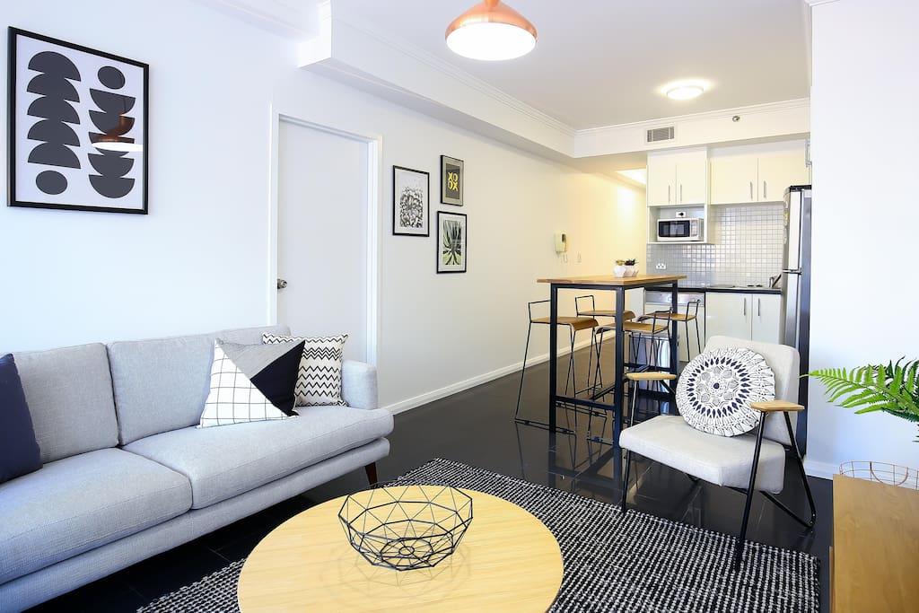 Clean, modern comfort