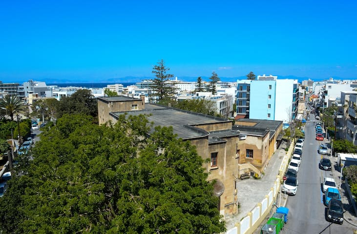 4. Amazing sea view apt. for 4 in Rhodes centre!