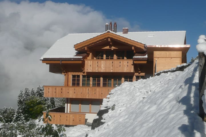 Perfect location with fabulous view - Wengen - Flat