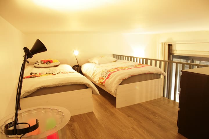 CENTRE PARIS, NICE APART 4PERSONS