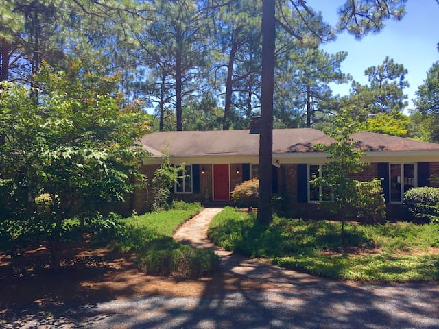 Golf Front Home on Pine Needles - Southern Pines - Casa