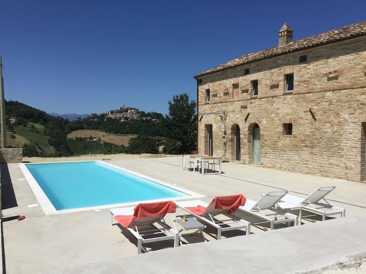 Casa Trifoglio - Montelparo - 8 pers