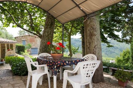 Appartamento Geranio Villa Ridaldi - Greve in Chianti - House