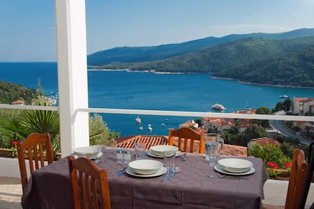 Apartment with beautiful Seaview  - Rabac