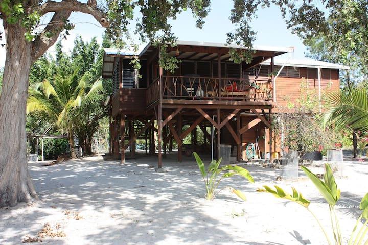 Revaspearl, a comfortable hideaway - Maya Beach,Placencia - Huis