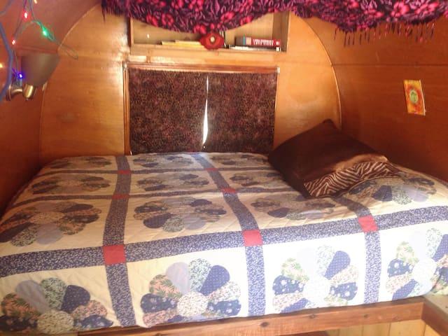 Gypsy Wagon at Mystic Hot Springs
