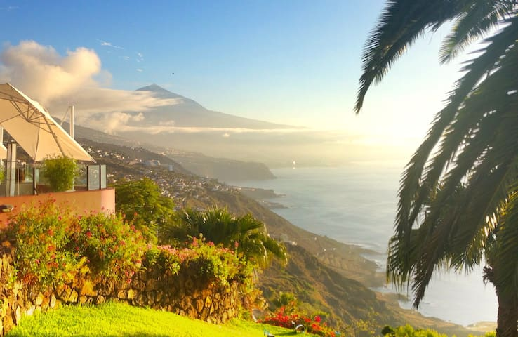 House with best views in Tenerife! - El Sauzal - Talo