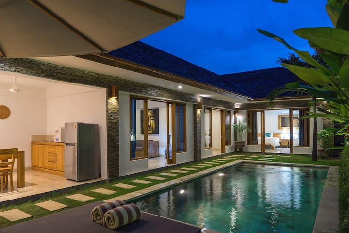 Lotus 2 br with private pool, Sanur
