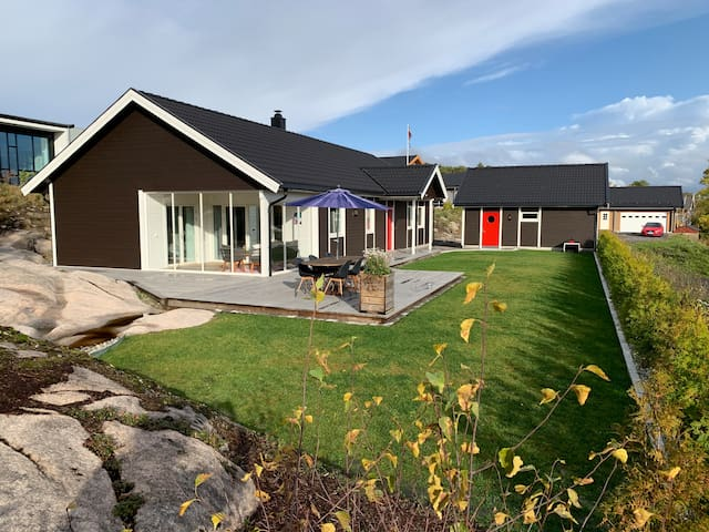 Beautiful full size house on Hvaler