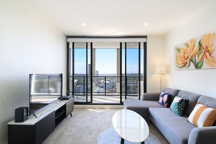Amazing View/Parramatta CBD/New Luxury Apt/Parking
