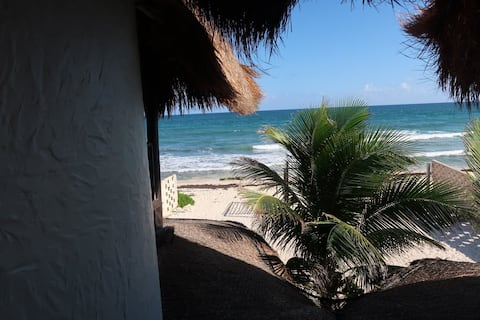 Casa Kayab... Eco Guest House Room 3 in Puerto M.