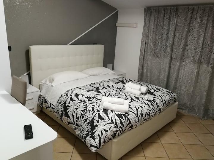 Appartamento con due camere da letto in b&b