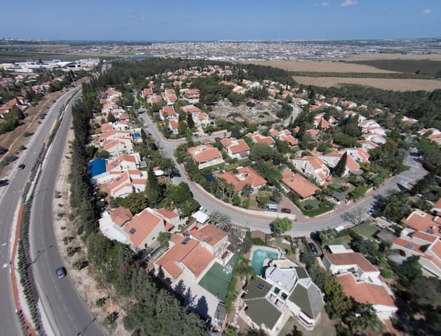 Perfect house in the periphery for families - Kokhav Ya'ir Tzur Yigal - Rumah