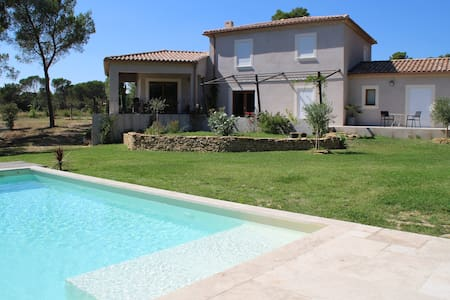 Chambre d'hote  vaucluse dans villa contemporaine - Bed & Breakfast