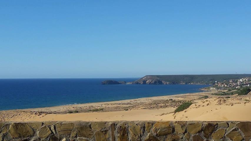 Casa Marta, vista spettacolare su mare e dune