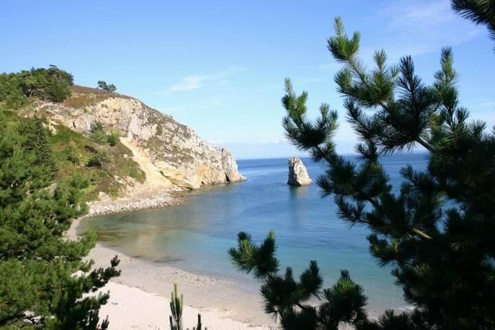 Beau Duplex 3p - Bord de plage et vue panoramique