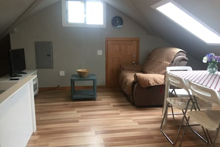 Studio with extra room for 4 - Burncoat area