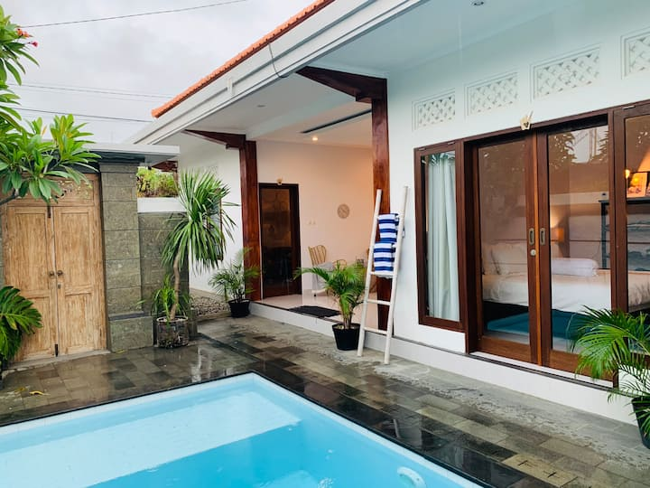 Homey and Stylish 1BR Villa with Pool in Canggu