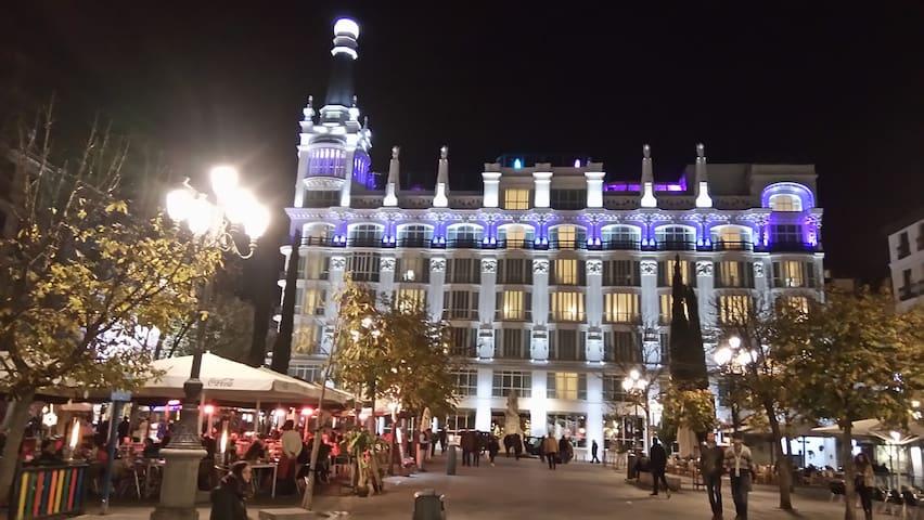 Madrid Centro-Sol-Calle del Principe-Pza Santa Ana